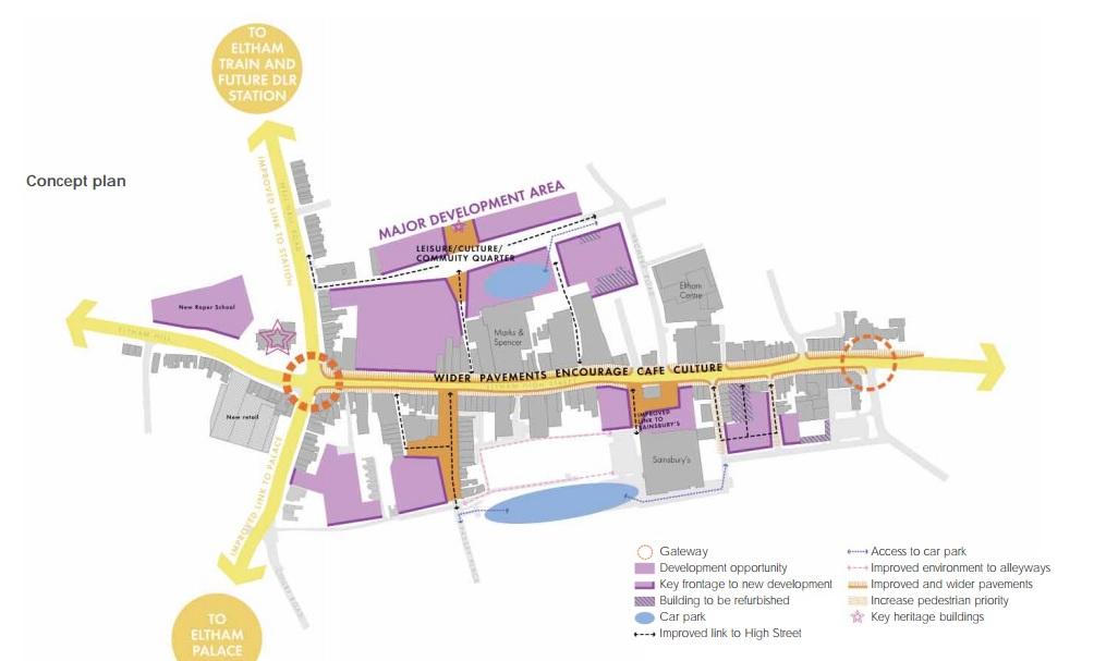Eltham development site for sale after housing plans rejected