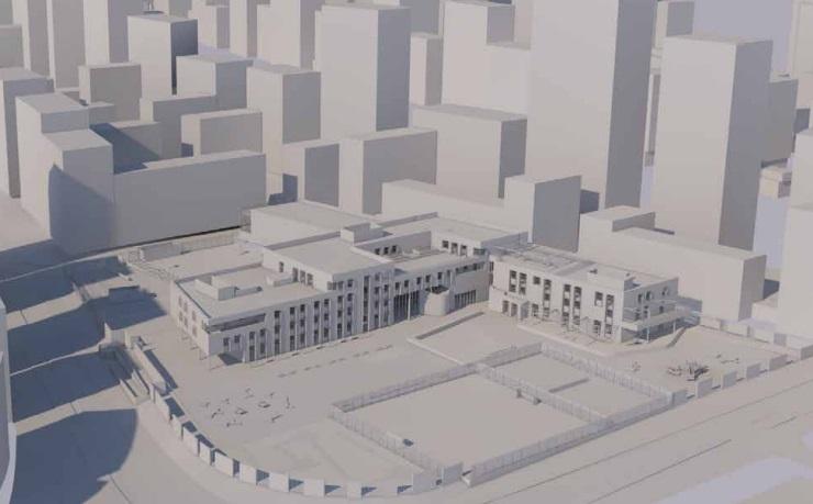 30-storey tower planned beside Greenwich school