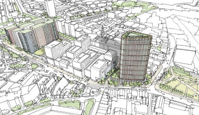 Campaign group formed to fight tower planned outside Woolwich Tesco