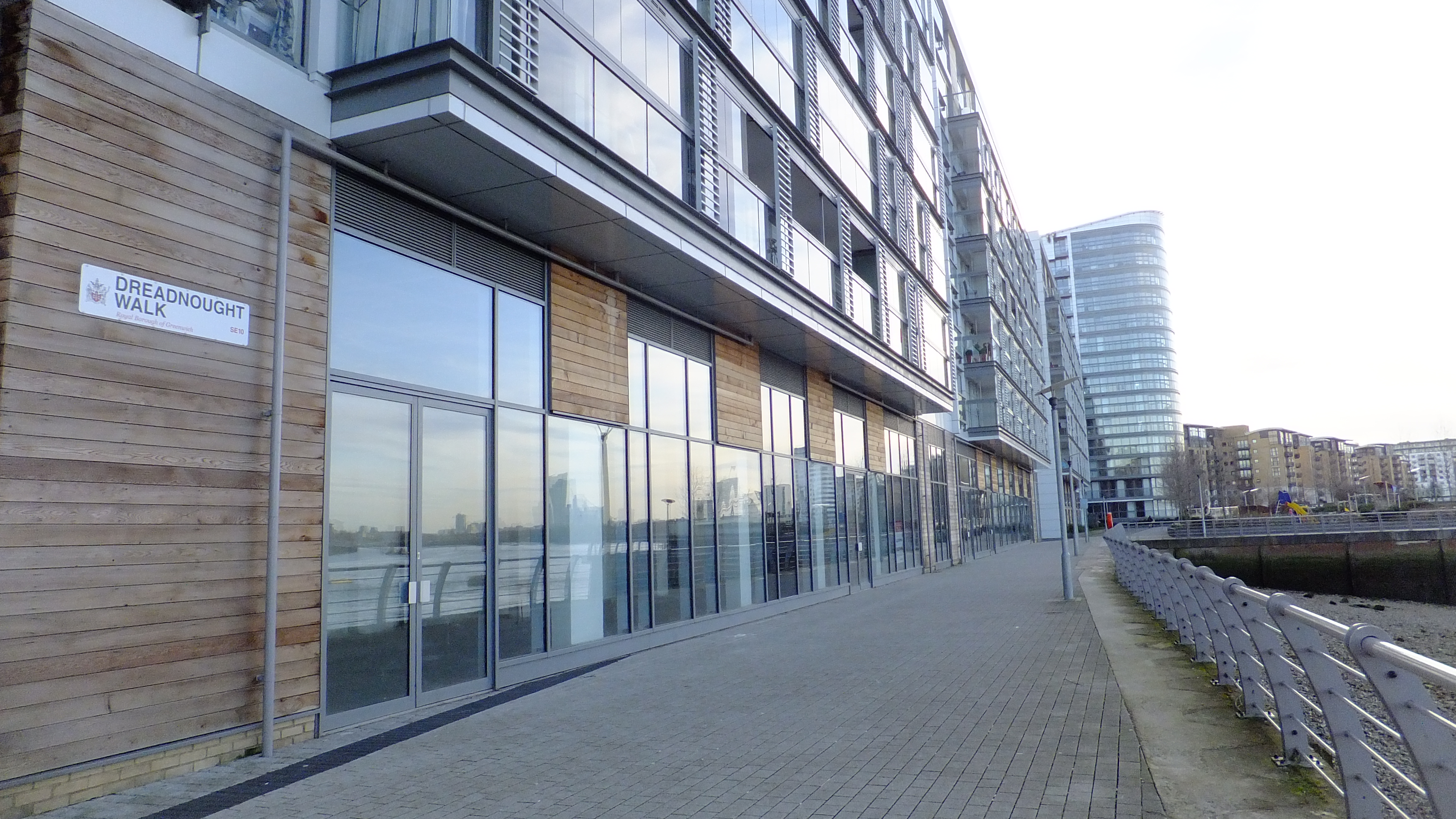 The failure of Greenwich's New Capital Quay riverside units