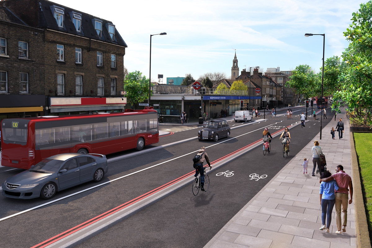 Cycle Superhighway 4 from Greenwich to Tower Bridge: Building work starts next month