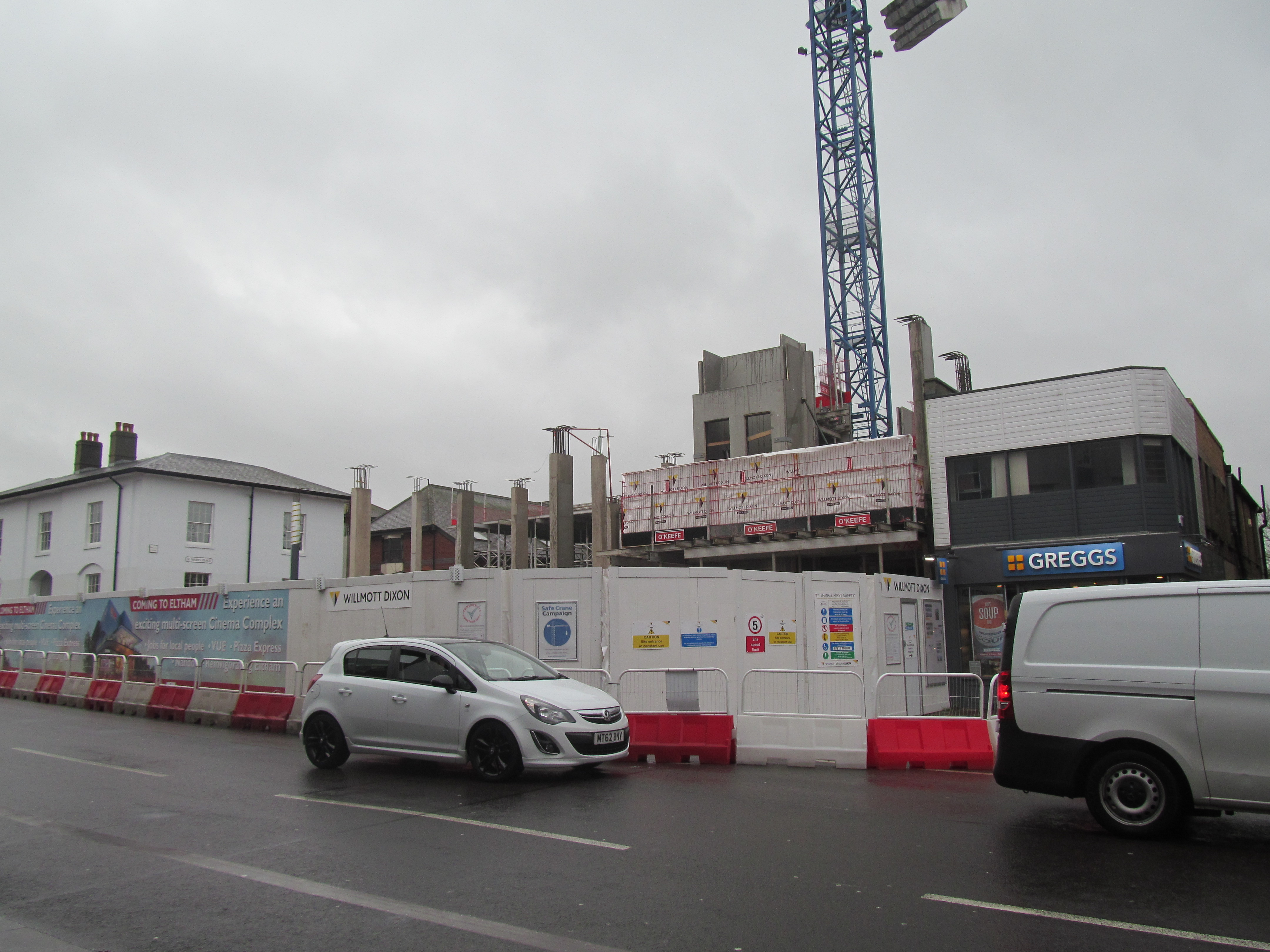 Elthams Future Vue Cinema Construction Pushing Forward