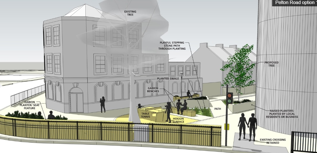 Have your say on new pocket parks in Greenwich
