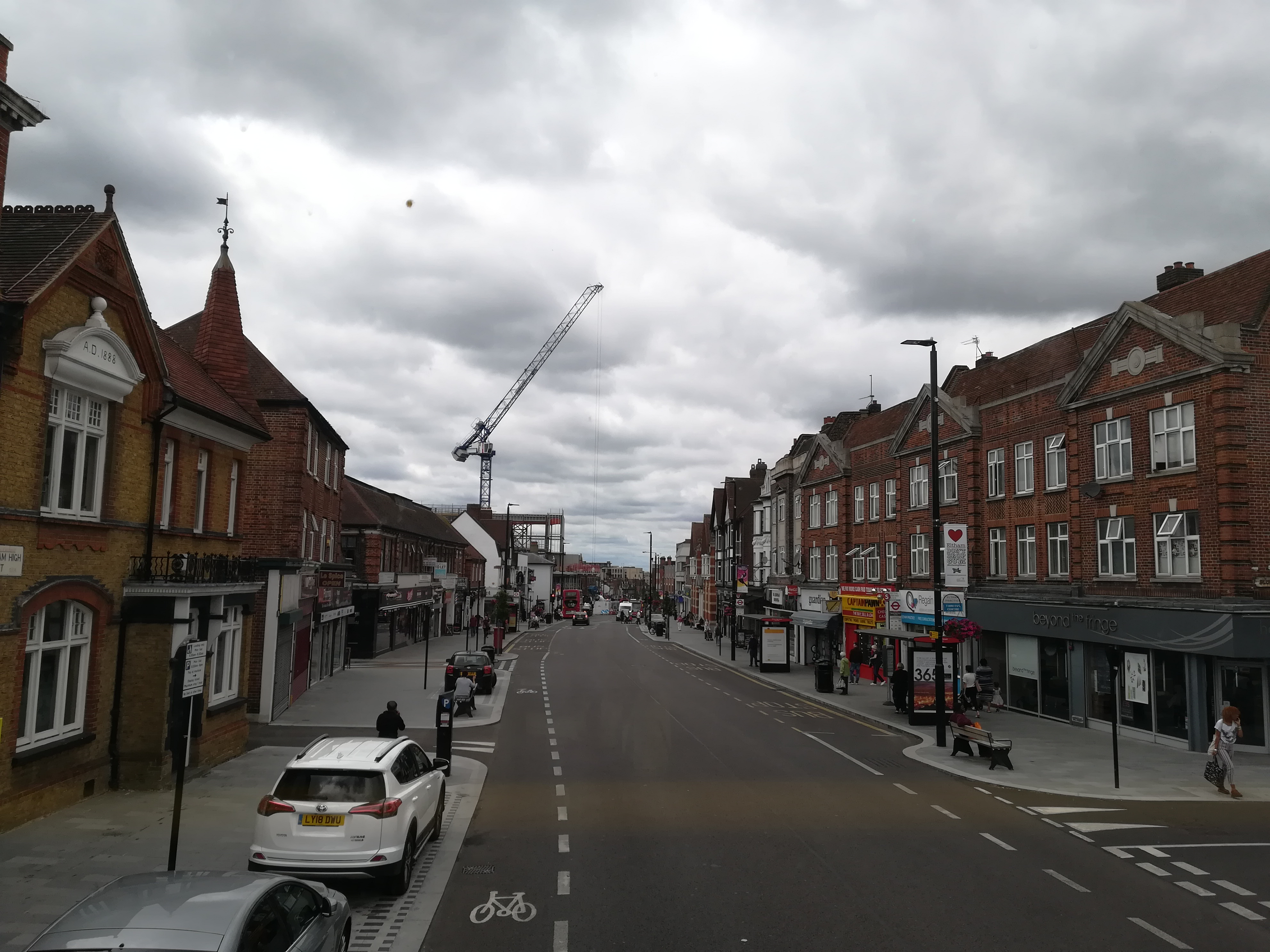 A little look around Eltham as cinema progress continues