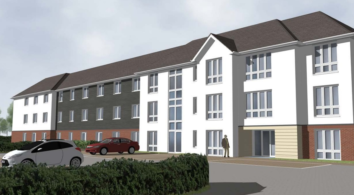 154 care home places and flats coming to Queen Mary's Hospital's former Maternity Unit site in Sidcup