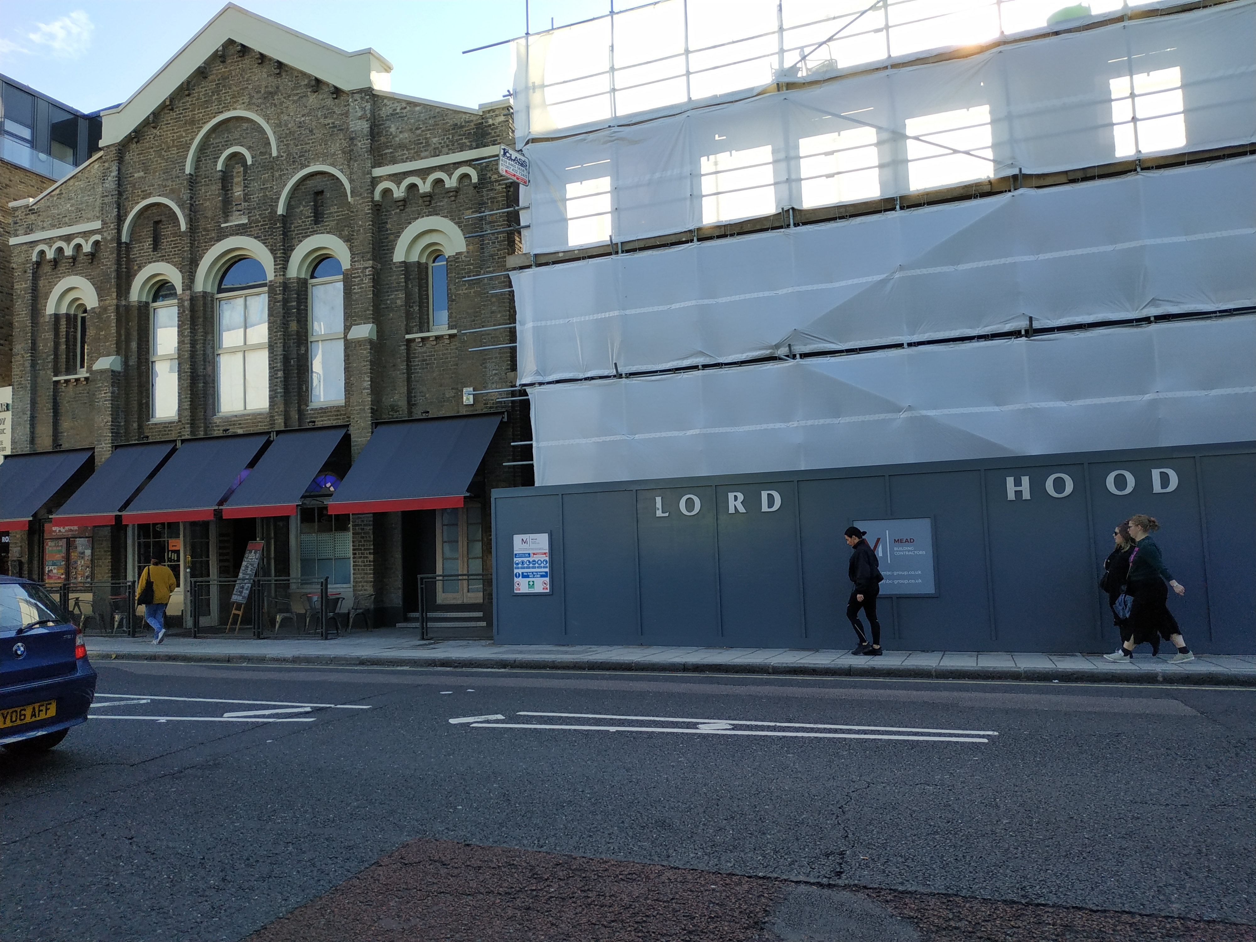 Greenwich pub Lord Hood's demolition almost complete