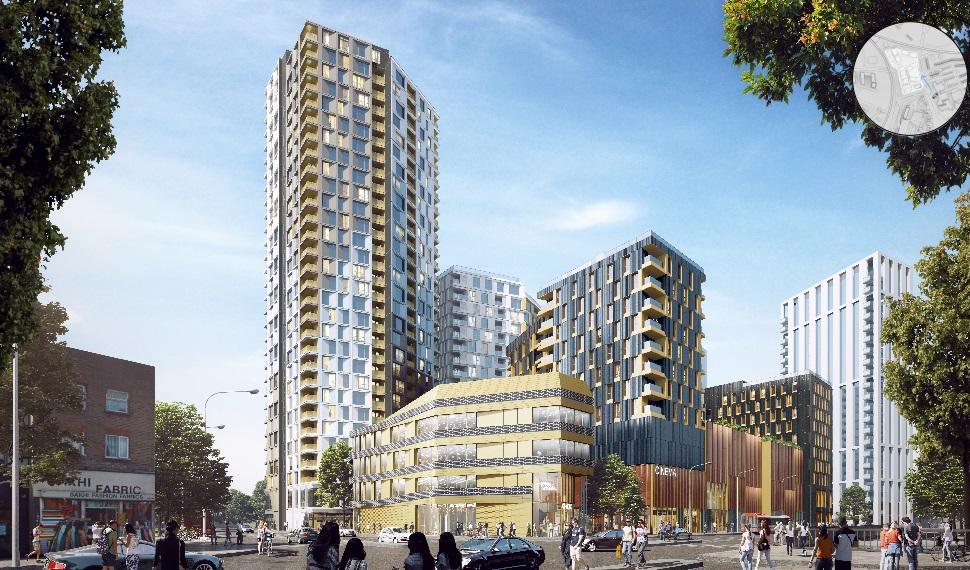 A look at Lewisham Gateway scheme including cinema, shops and 530 flats