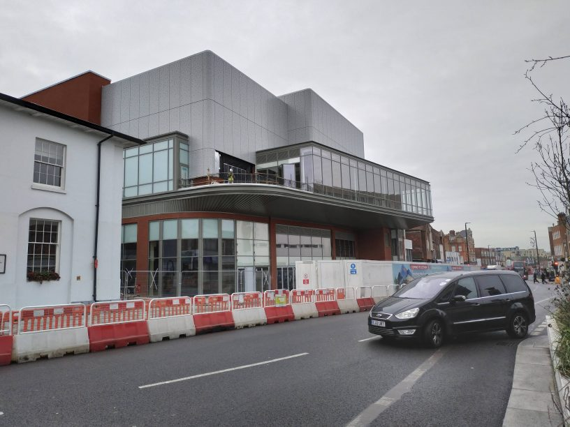 Elthams New Vue Cinema Almost Externally Complete As