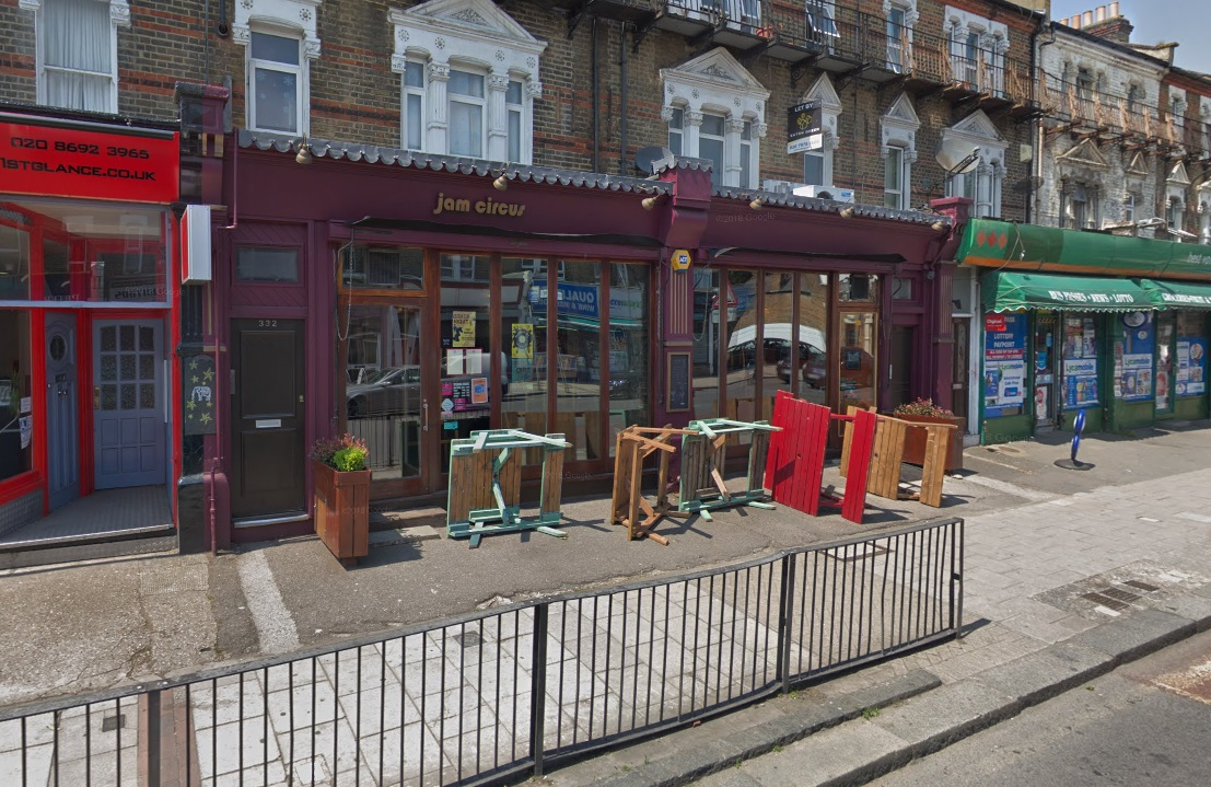 Jam Circus in Crofton Park sold by Antic pub group