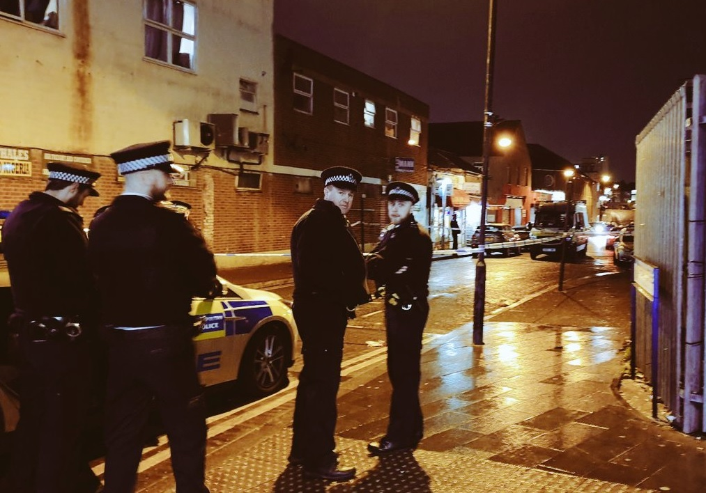 Suspected stabbing on Spray Street in Woolwich