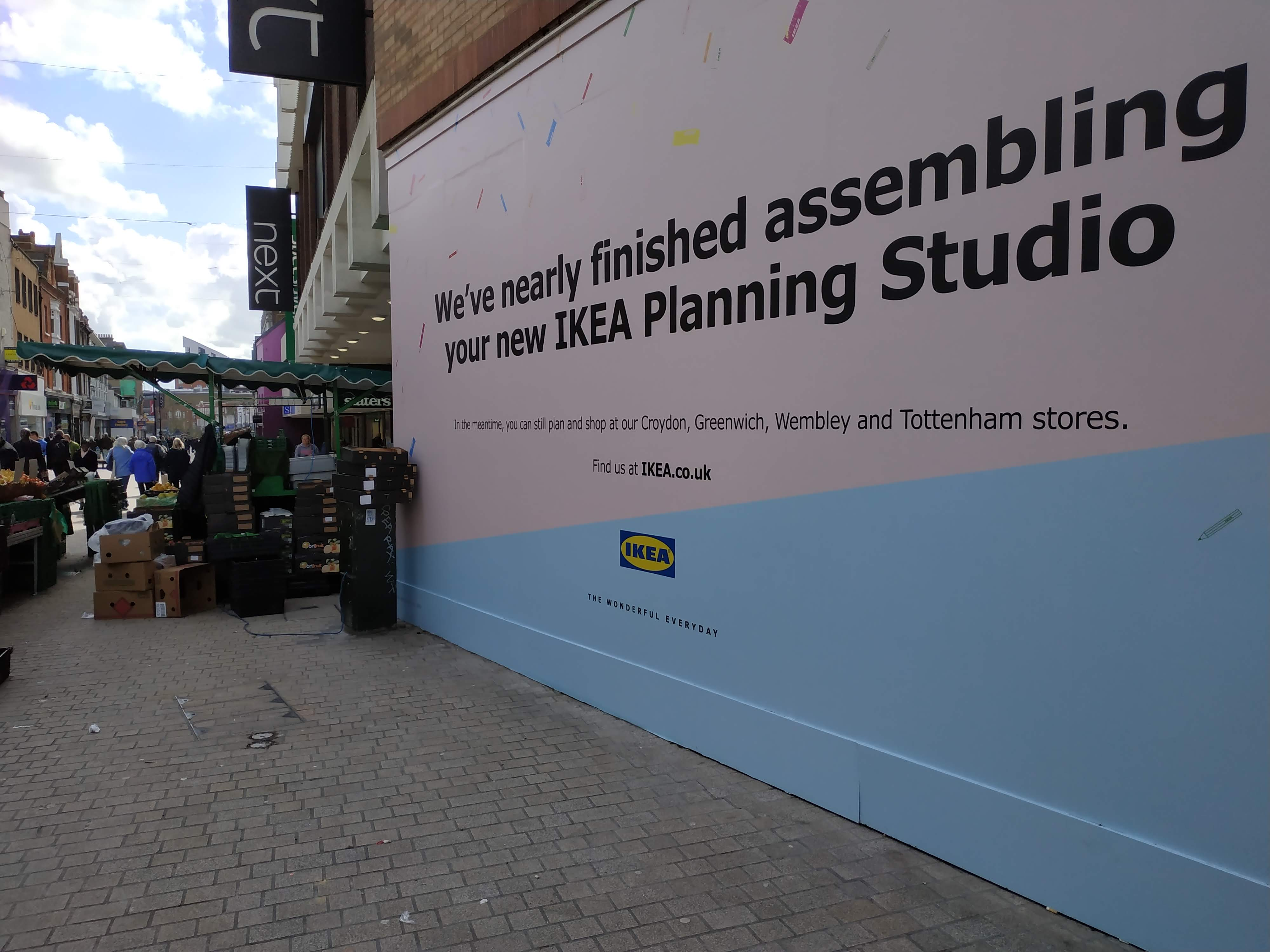Ikea open new store in Bromley