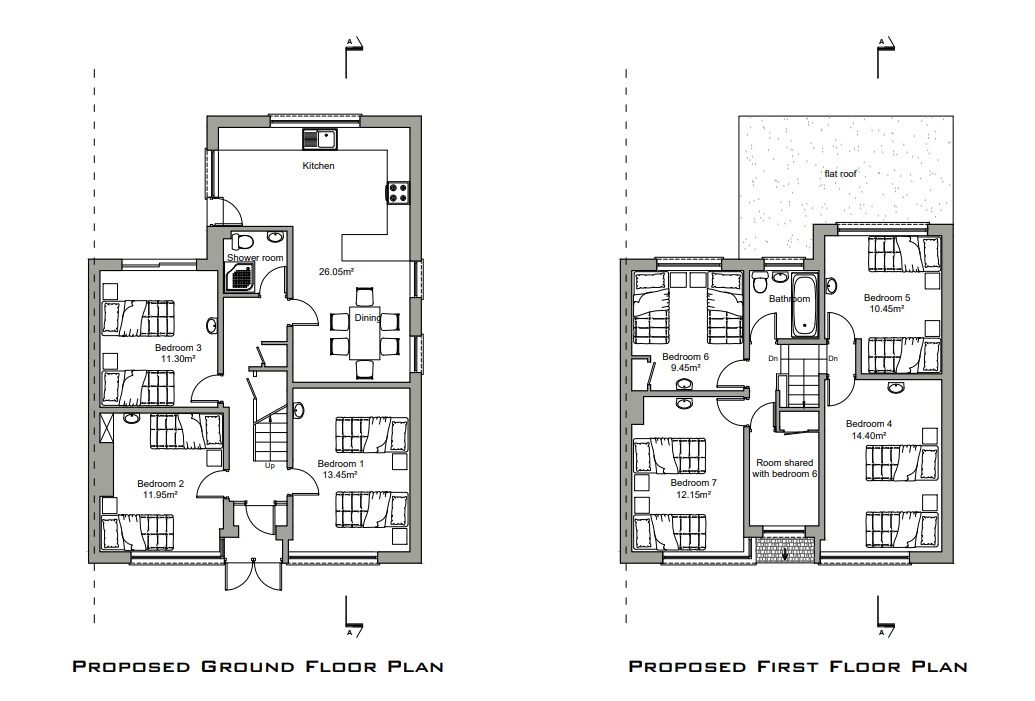 Belvedere Family Home Has Conversion Plans In For Fourteen Person Hmo House Of Multiple Occupation Murky Depths