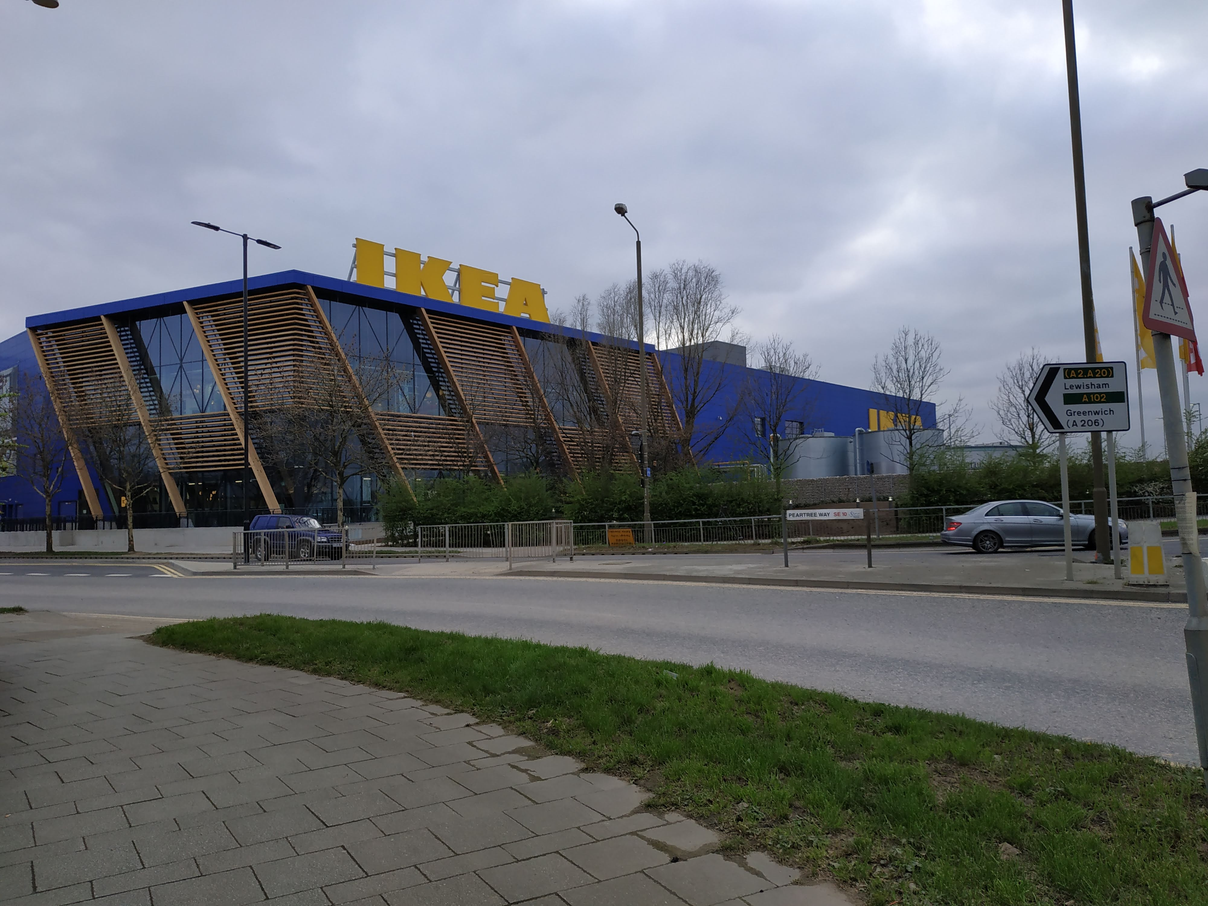 Returning to Greenwich Ikea two months on – any pedestrian improvements?