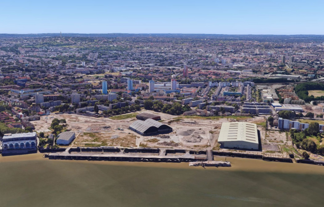 Next plot of 3,500-home Convoys Wharf scheme submitted | Murky Depths