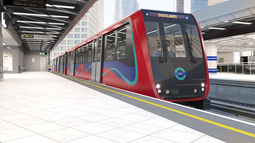 New DLR trains ordered and arriving from 2023