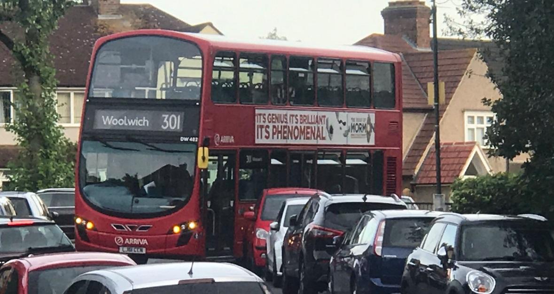 New bus 301 struggling on roads in Abbey Wood