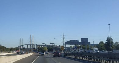 Dartford crossing fire: Miles of tailbacks on M25 and Blackwall in Greenwich