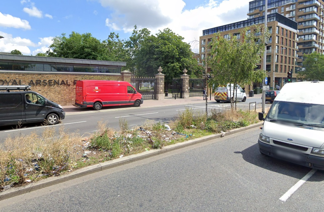 Woolwich greenery and trees to be ripped out