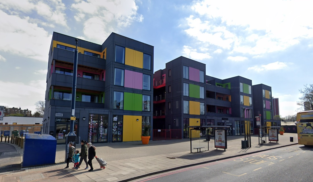 Temporary housing at PLACE ladywell