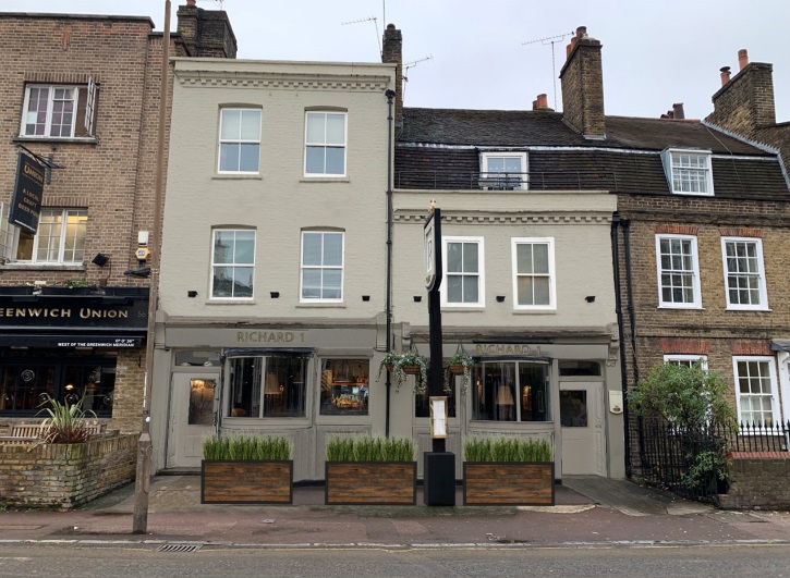 Greenwich pub Richard 1 to see renovation