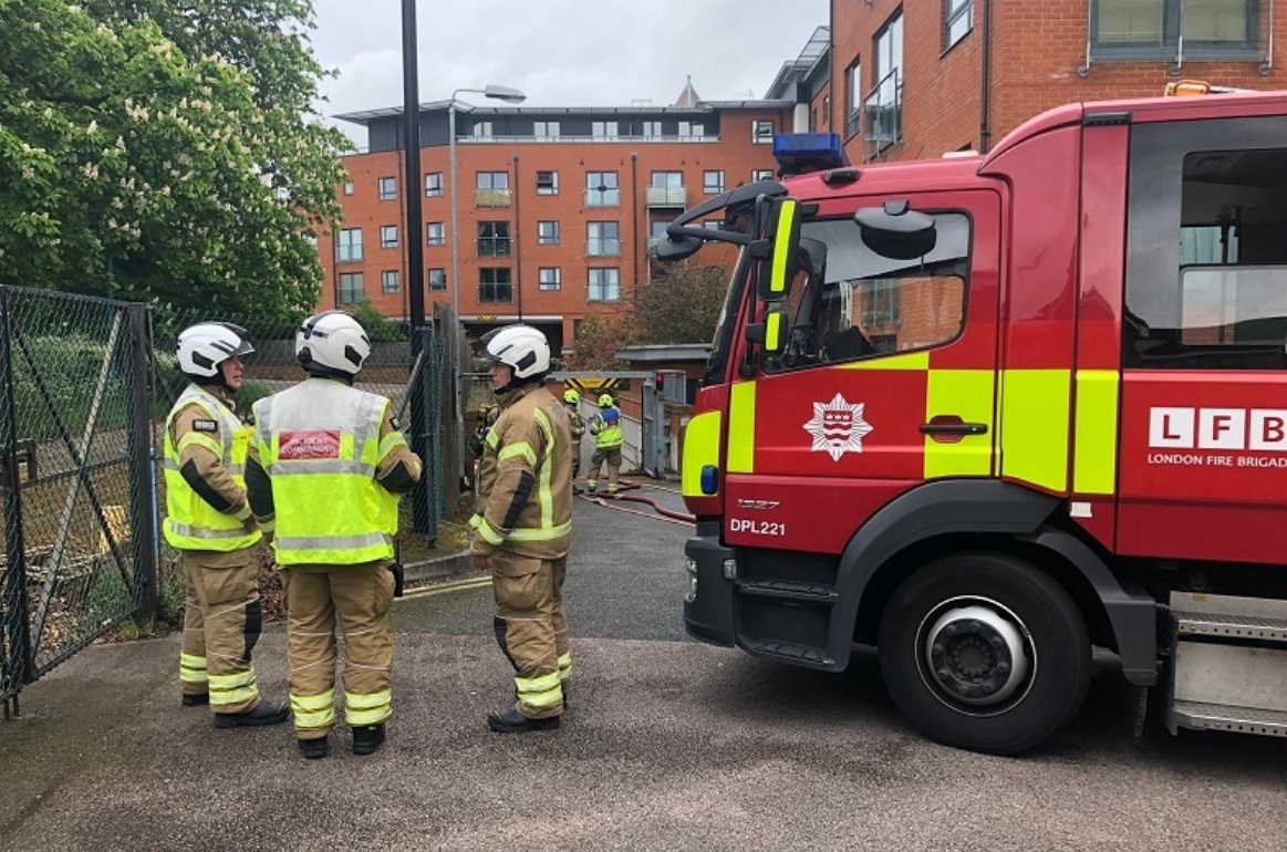 Fire hits blocks in Hither Green and Catford