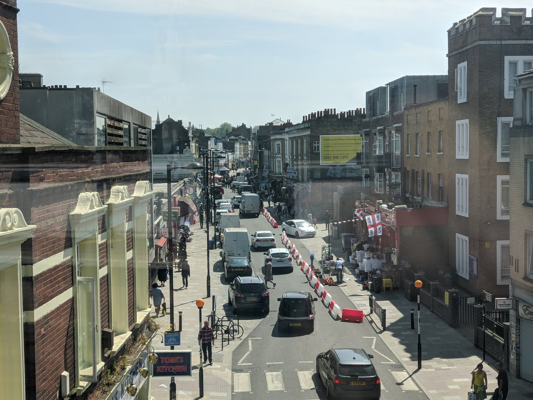 Deptford High Street pedestrian measures failing?
