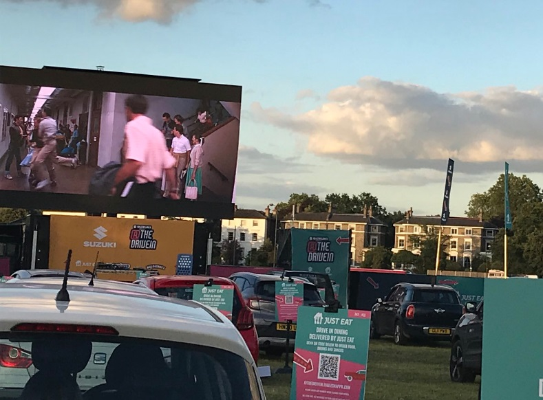 Car-only cinema begins at Blackheath   Murky Depths