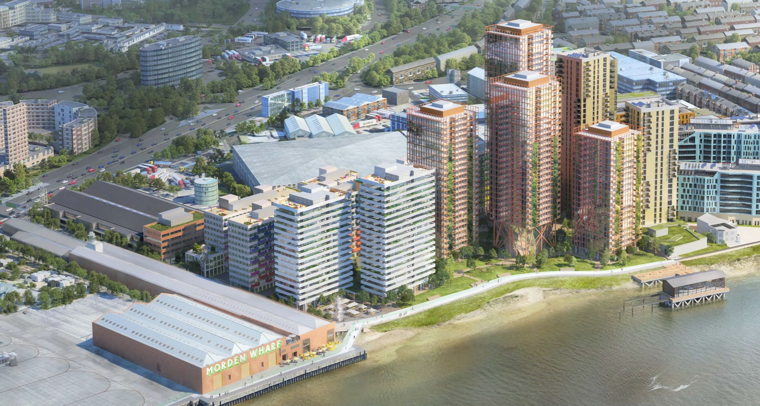 Huge new Greenwich development at Morden Wharf submitted – a look at plans