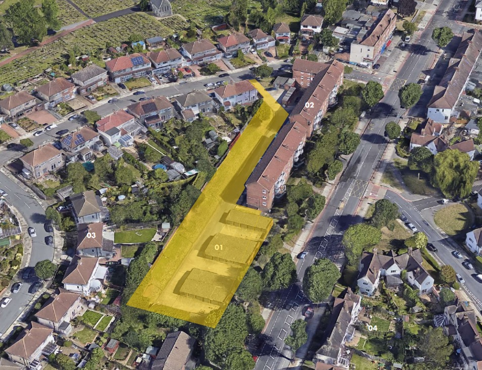 Eltham block of flats submitted for planning by Greenwich Council