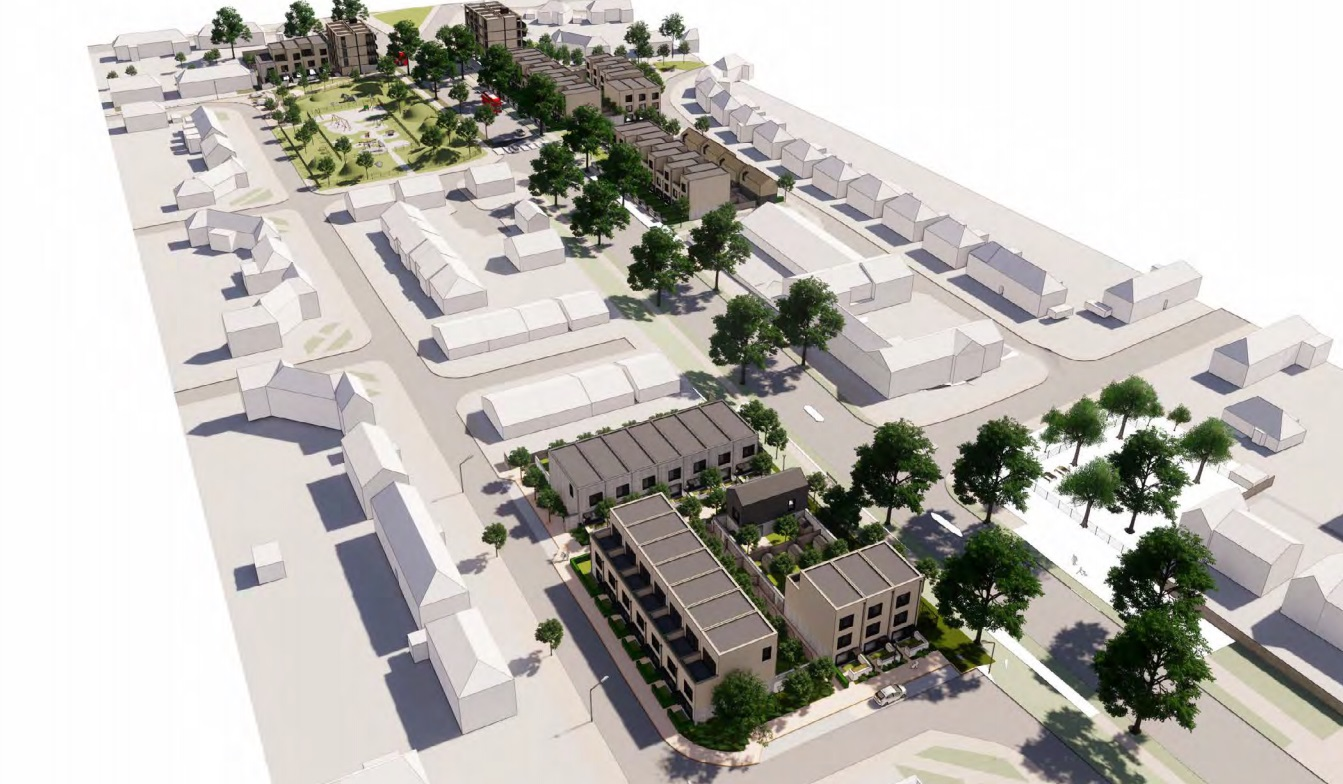 Kidbrooke council homes plan submitted