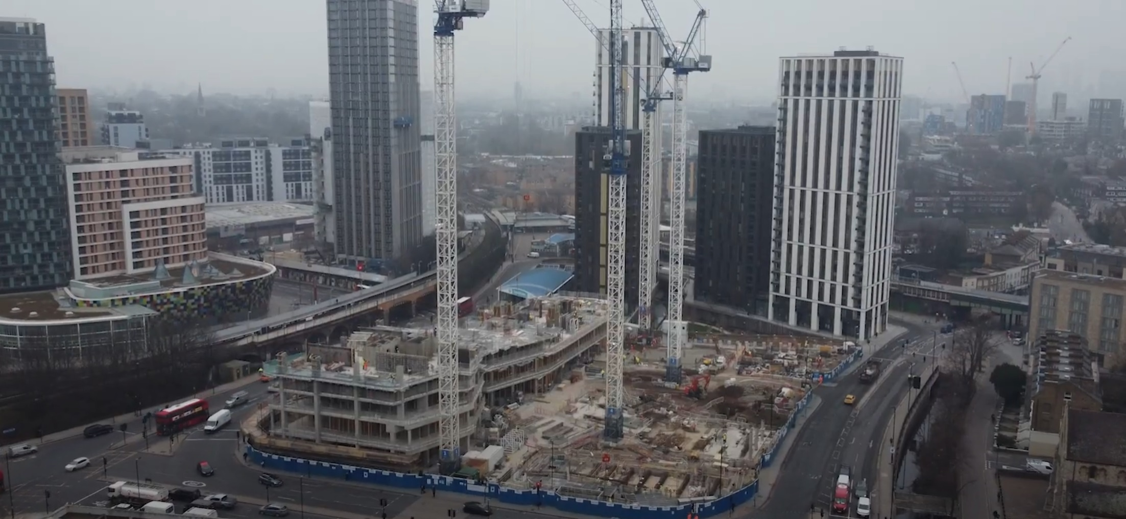 Video update shows Lewisham cinema, shops and housing development