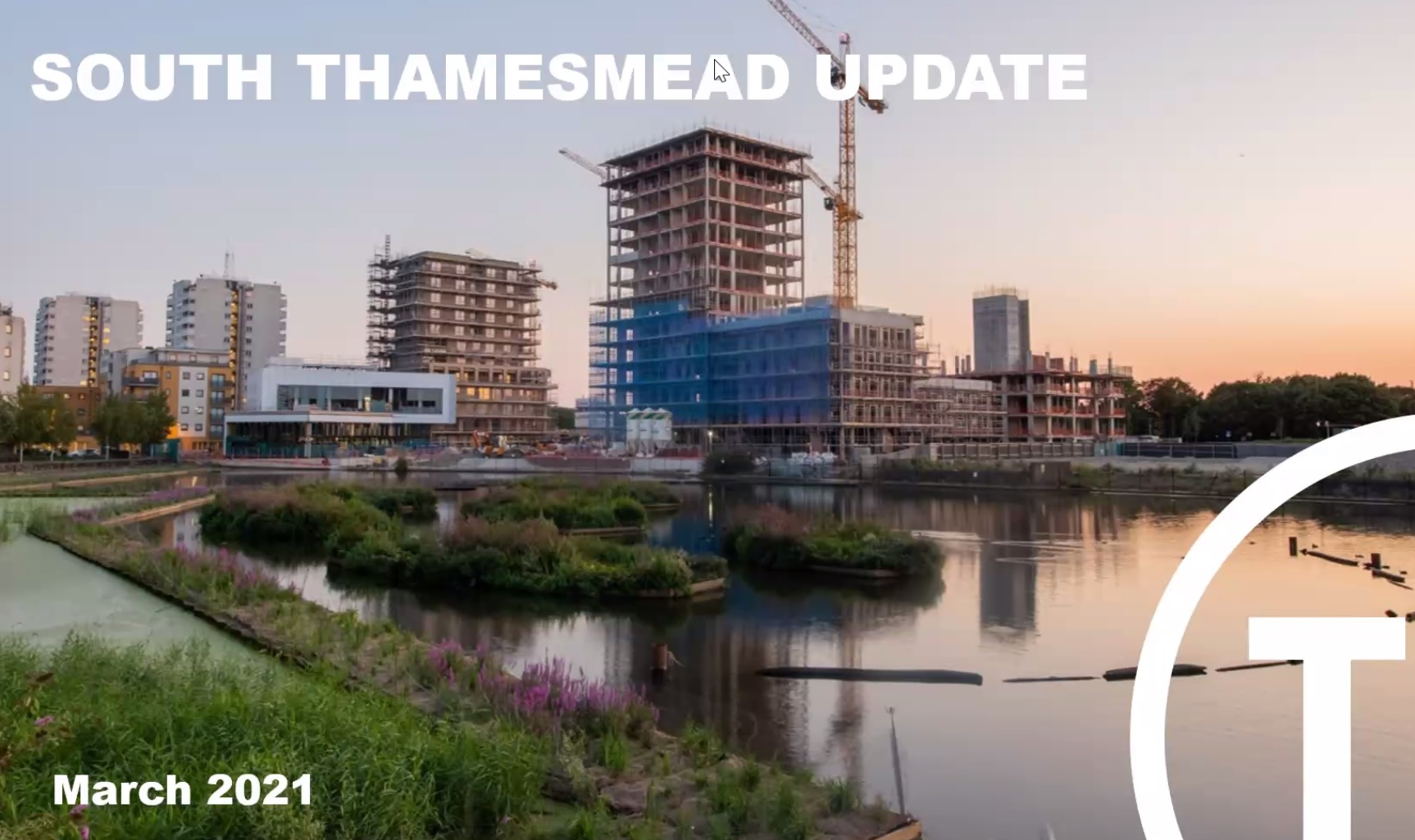 Peabody present Thamesmead development update