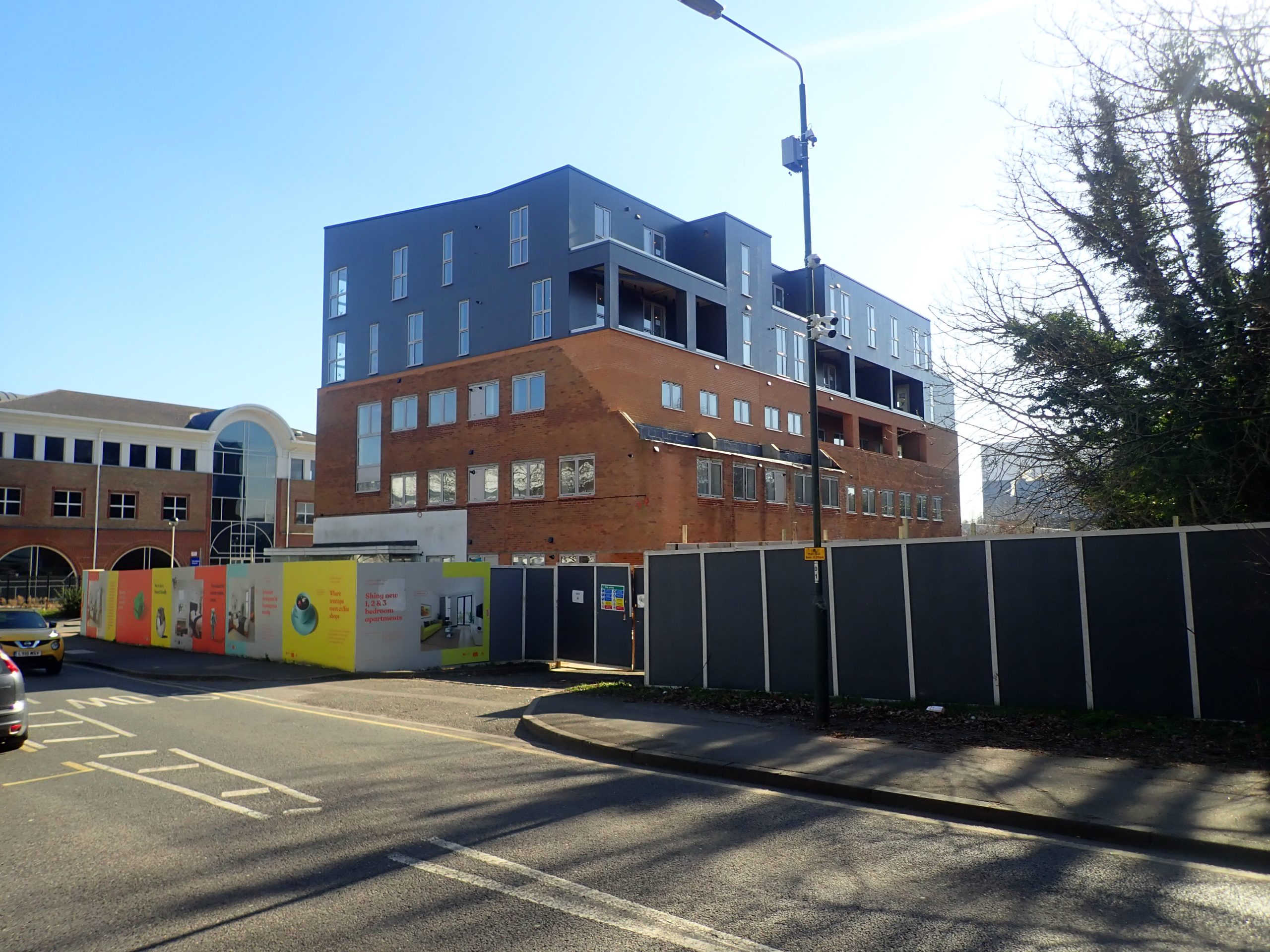 Sidcup's Boomtown development on the way to completion
