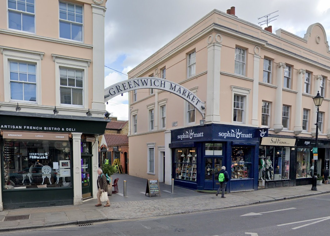Coffee shop 15 Grams to replace Sophia & Matt in Greenwich town centre