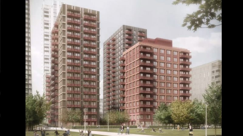 Plot at Greenwich Peninsula sees large increase in planned homes