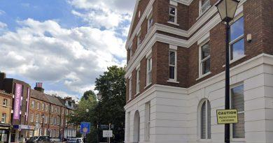 Hotel plan at Greenwich office block