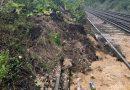 Landslip blocks track: Southeastern rail delays